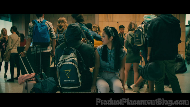 Harrow Sports Backpack of Noah Centineo as Peter Kavinsky in To All the Boys Always and Forever (2)