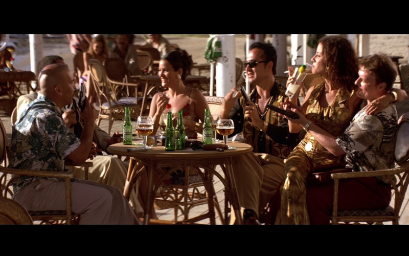 Heineken Beer Bottles in Die Another Day (2002)