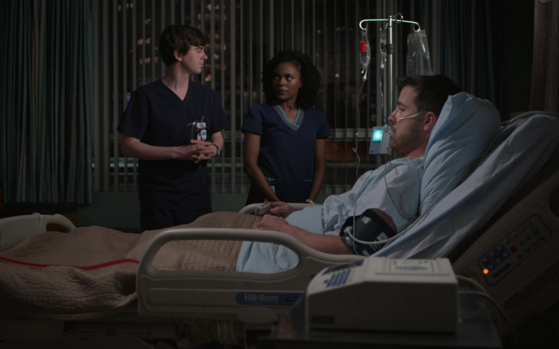 Hill-Rom Hospital Bed in The Good Doctor S04E10 Decrypt (2021)