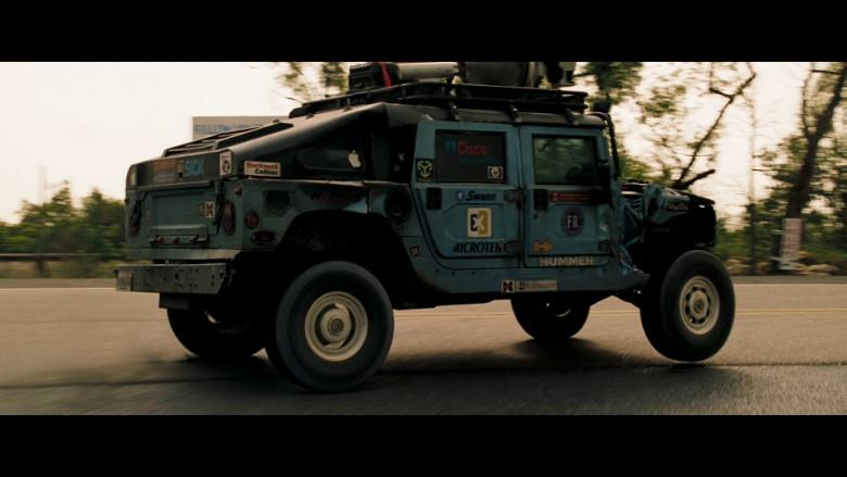 Hummer Car, Rockwell Collins, Cisco, Swann, Microtek in Deja Vu (2006)