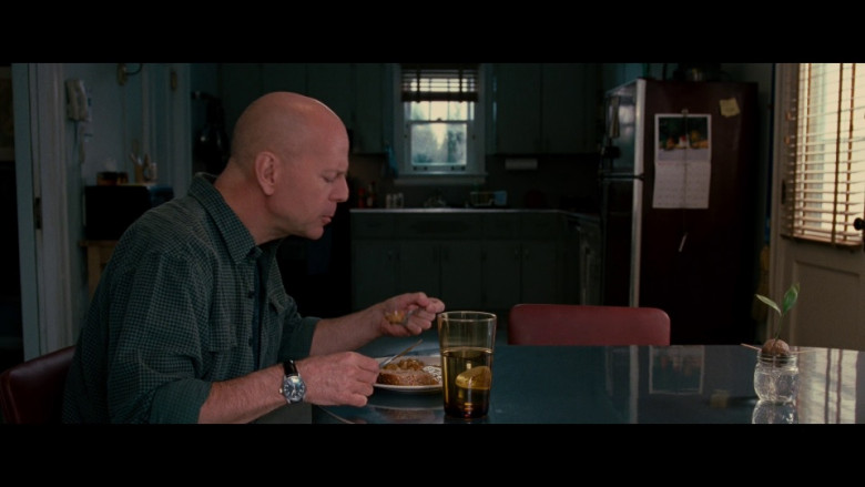 IWC Schaffhausen Pilot's Watch Mark XVI Automatic Men's Watch of Bruce Willis as Frank Moses in Red (2010)