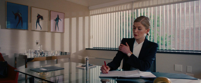 IWC Women's Gold Watch of Rosamund Pike as Marla Grayson in I Care a Lot Movie (2)