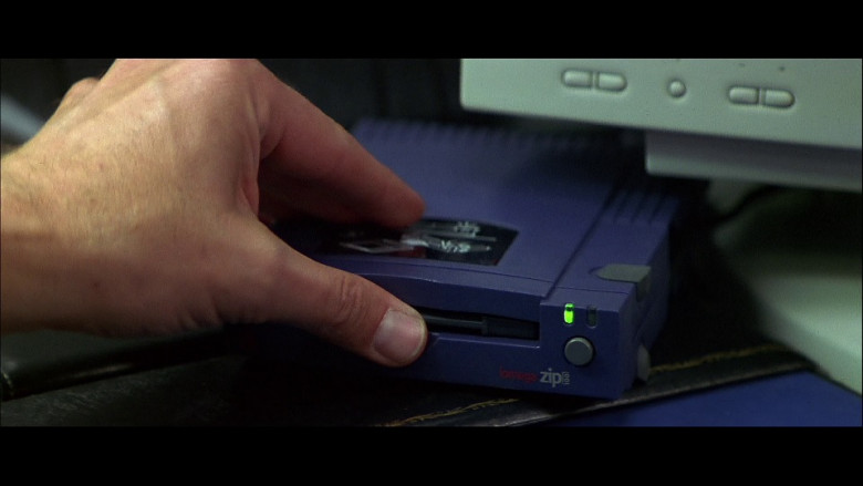 Iomega Zip Drive 100 in FaceOff (1997)