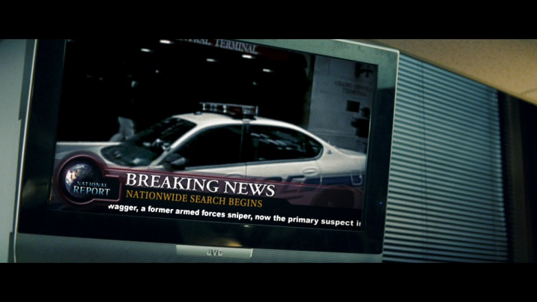 JVC Television in Shooter (2007)