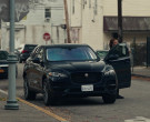 Jaguar F-Pace SUV of Queen Latifah as Robyn McCall in The Eq...