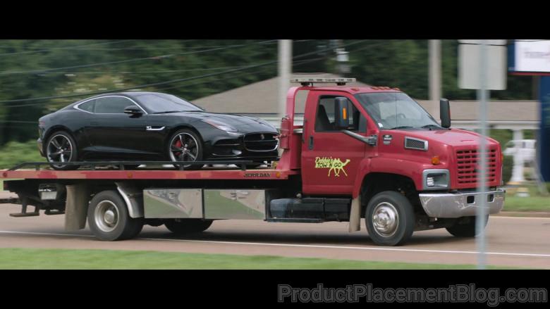 Jaguar F-Type Black Car in Breaking News in Yuba County (2)