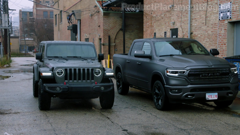 Jeep Wrangler SUV and RAM 1500 Pickup Truck in Chicago P.D. S08E06 Equal Justice (2021)