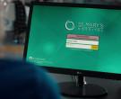 LG Computer Monitor in Nurses S01E09 Mirror Box (2020)