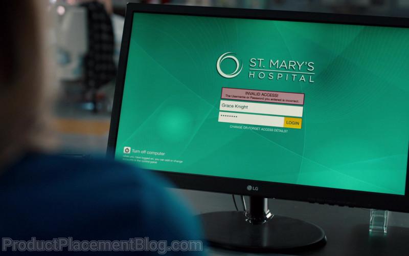 LG Computer Monitor in Nurses S01E09 (1)