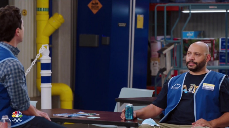 LaCroix Drinks Enjoyed by Actor Colton Dunn as Garrett McNeil in Superstore S06E08 Ground Rules (1)