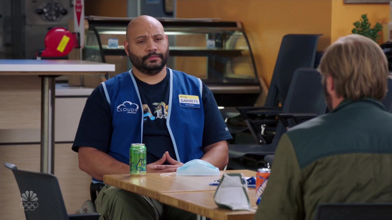 LaCroix Drinks Enjoyed by Actor Colton Dunn as Garrett McNeil in Superstore S06E08 Ground Rules (2)