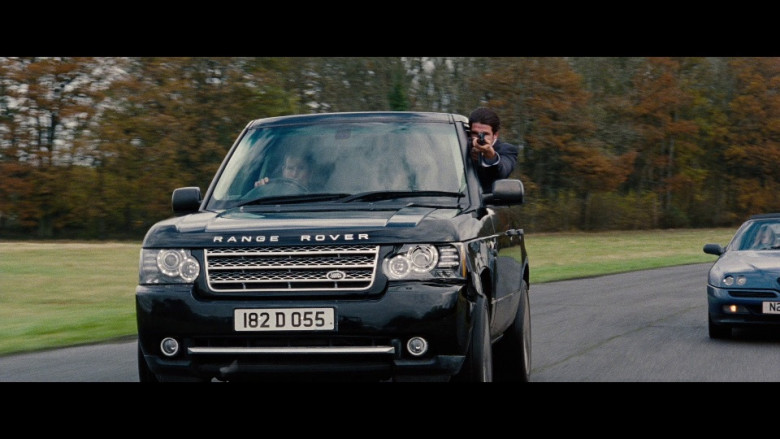 Land Rover Range Rover Series III Car in Red 2 (2013)