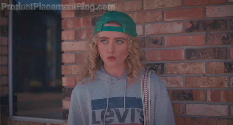 Levi's Women's Hoodie Outfit of Kathryn Newton as Margaret in The Map of Tiny Perfect Things (3)
