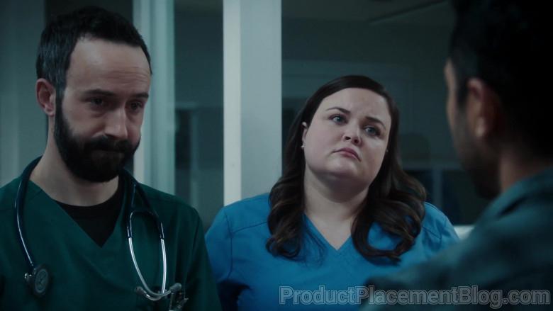 Littmann Stethoscope of Tasso Feldman as Irving in The Resident S04E05 Home Before Dark (2021)