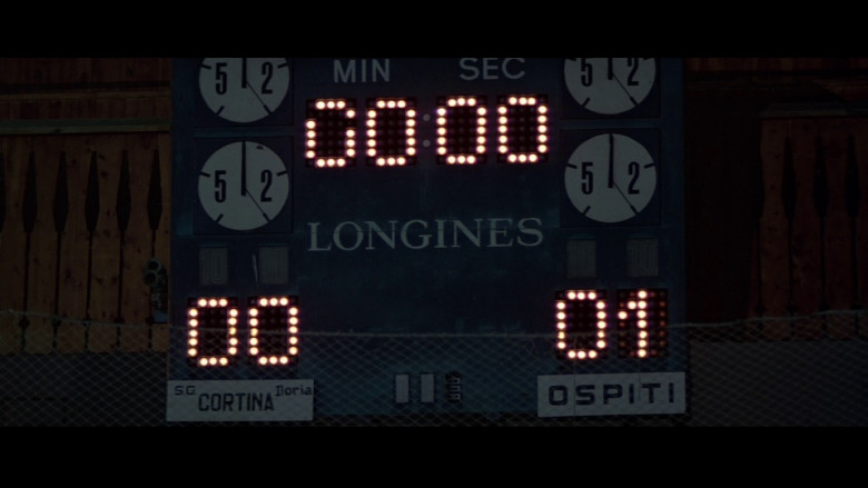 Longines Scoreboard in For Your Eyes Only (1981)