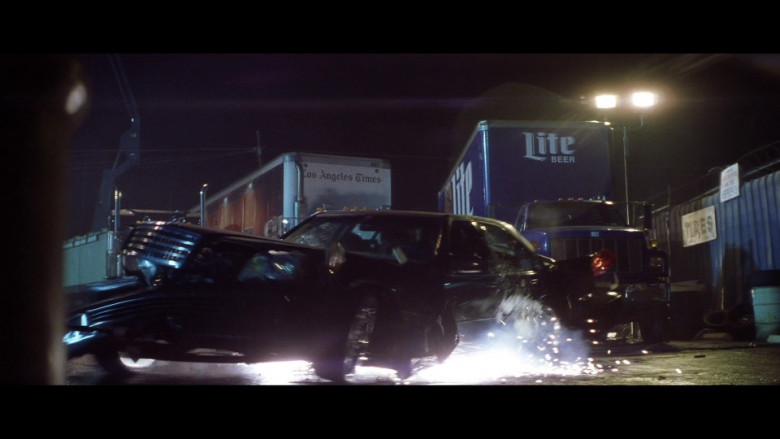 Los Angeles Times and Miller Lite Beer Trucks in Gone in 60 Seconds (2000)