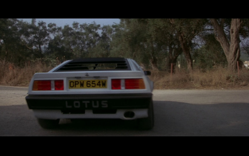Lotus Esprit Turbo (White) Car in For Your Eyes Only (1981)