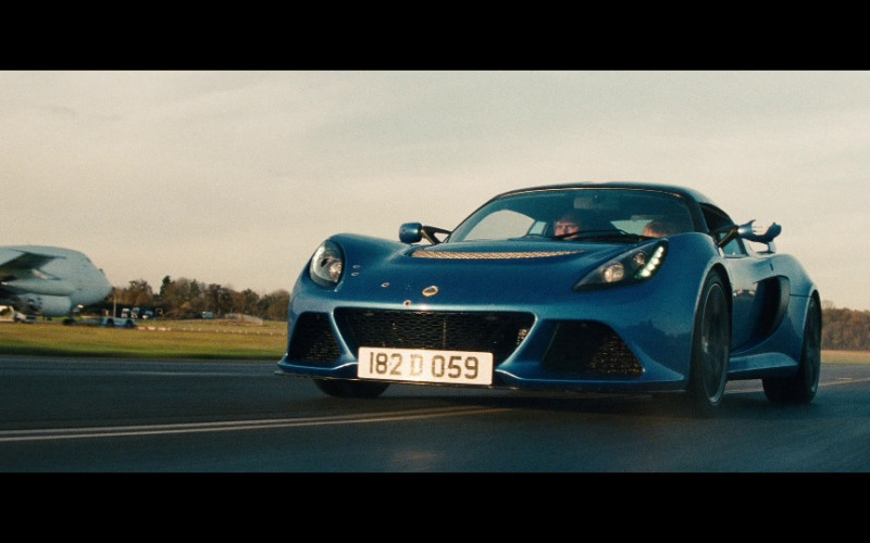 Lotus Exige S Sports Car in Red 2 (2013)