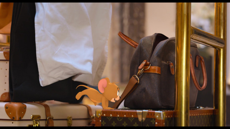 Louis Vuitton Luggage in Tom and Jerry (2)