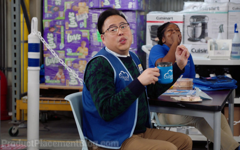 Luvs Diapers and Cuisinart in Superstore S06E09 (1)