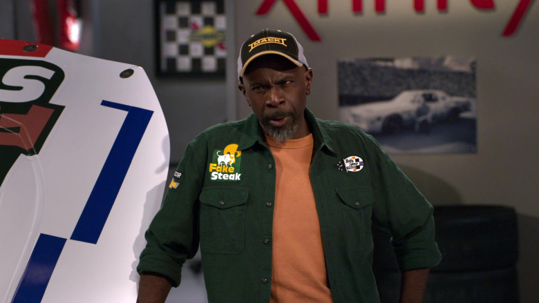 Mack Trucks Cap Worn by Actor Gary Anthony Williams as Chuck in The Crew S01E07 Ooof, Someone Throw A Robe On Grandma (2021)