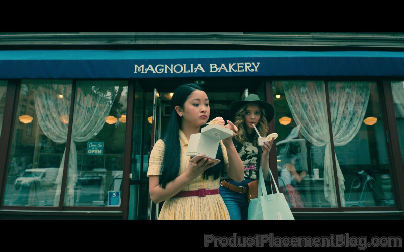 Magnolia Bakery in To All the Boys Always and Forever (2021)