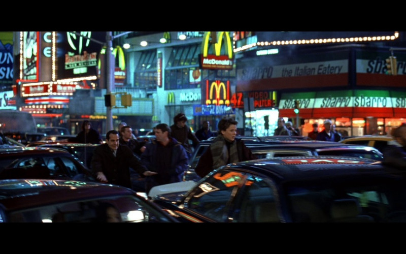 McDonald's and Sbarro in The Siege (1998)