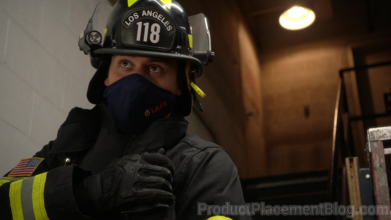 Mechanix M-Pact Gloves in 9-1-1 S04E04 9-1-1, What's Your Grievance (2021)