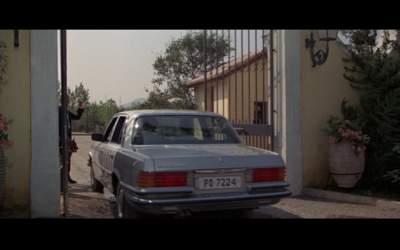 Mercedes-Benz 450 SEL Car in For Your Eyes Only (1)