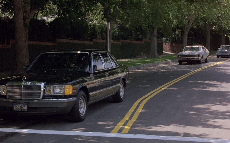 Mercedes-Benz 500 SEL [W126] Car in Beverly Hills Cop 1984 (1)
