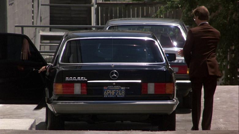 Mercedes-Benz 500 SEL [W126] Car in Beverly Hills Cop 1984 (2)