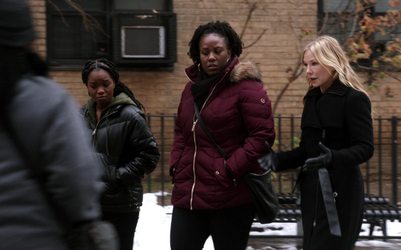 Michael Kors Women's Winter Jacket in Law & Order SVU S22E08 (2)