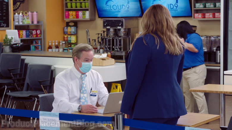 Microsoft Surface Laptop of Mark McKinney as Glenn Sturgis in Superstore S06E09 Conspiracy (2021)