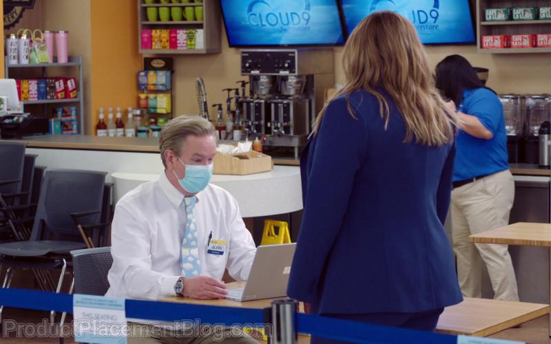 Microsoft Surface Laptop of Mark McKinney as Glenn Sturgis in Superstore S06E09 Conspiracy (2021)