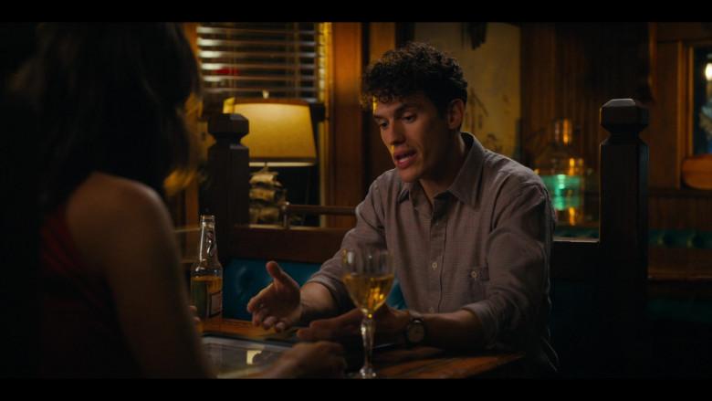 Miller High Life Beer Bottle of Sam Vartholomeos as Jimmy Farrell in Bridge and Tunnel S01E05