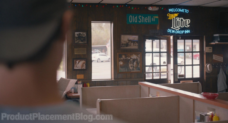 Miller Lite Beer Sign in The Map of Tiny Perfect Things (2021)