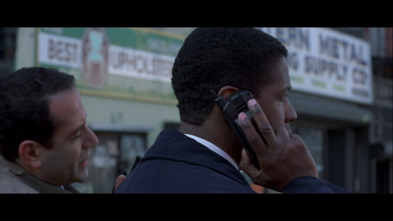 Motorola Mobile Phone of Denzel Washington