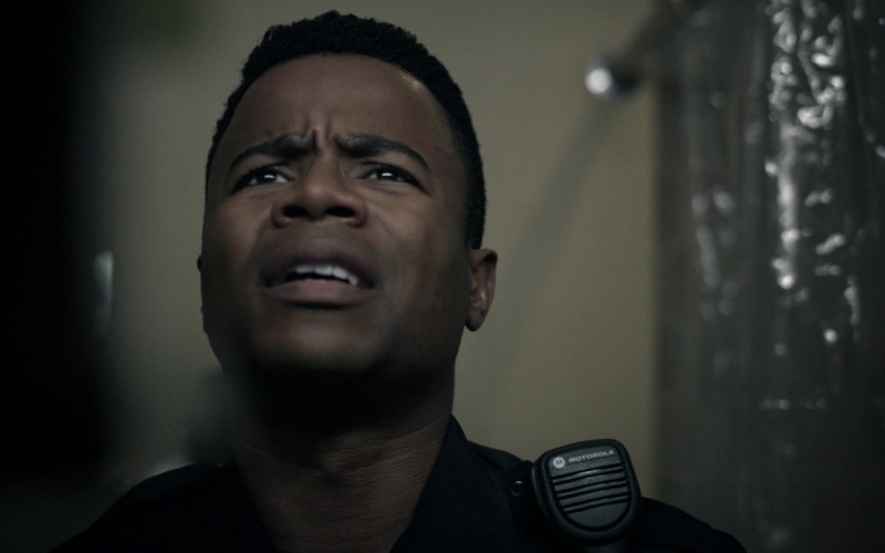 Motorola Radio Used by Marque Richardson as Police Officer Tom Johnston in Tell Me Your Secrets S01E08 Be Mine (2021)