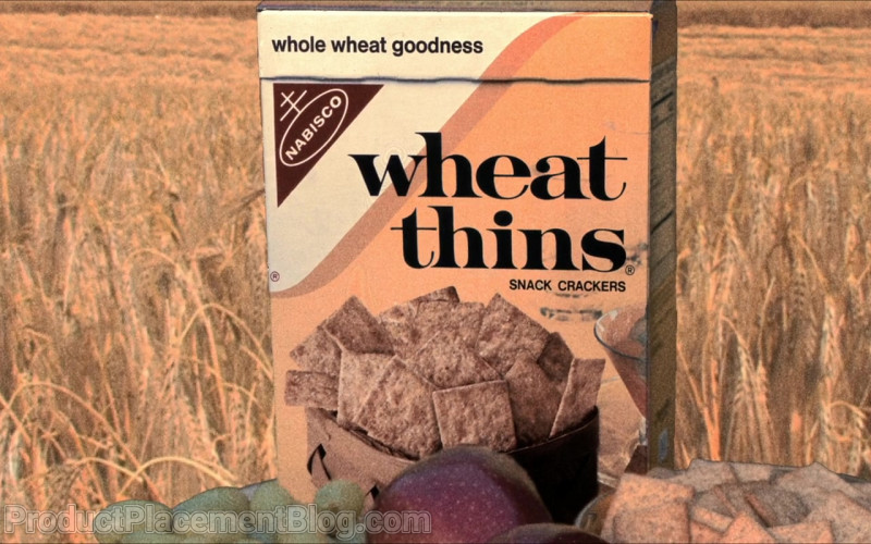Nabisco Wheat Thins Original Snack Crackers in Barb and Star Go to Vista Del Mar (2021)