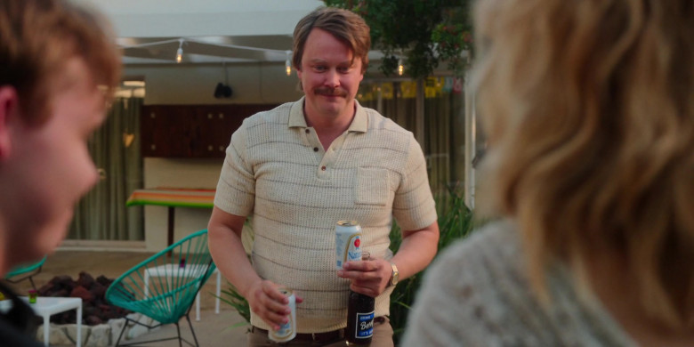 Natural Light Beer and Barq's Root Beer Drink in For All Mankind S02E02 (1)