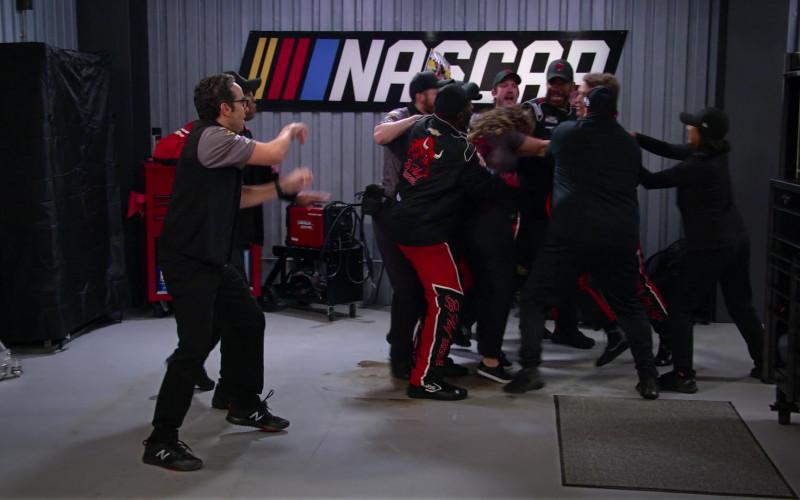 New Balance Men's Sneakers of Dan Ahdoot as Amir in The Crew S01E01