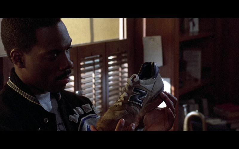 New Balance Shoe Held by Eddie Murphy as Axel Foley in Beverly Hills Cop 2 (1987)