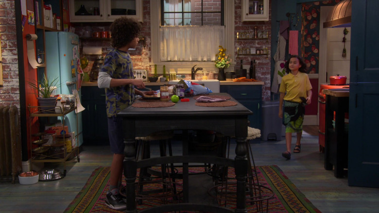 Nike Air Jordan 3 Sneakers of Noah Cottrell as Diego in Punky Brewster S01E06 (1)