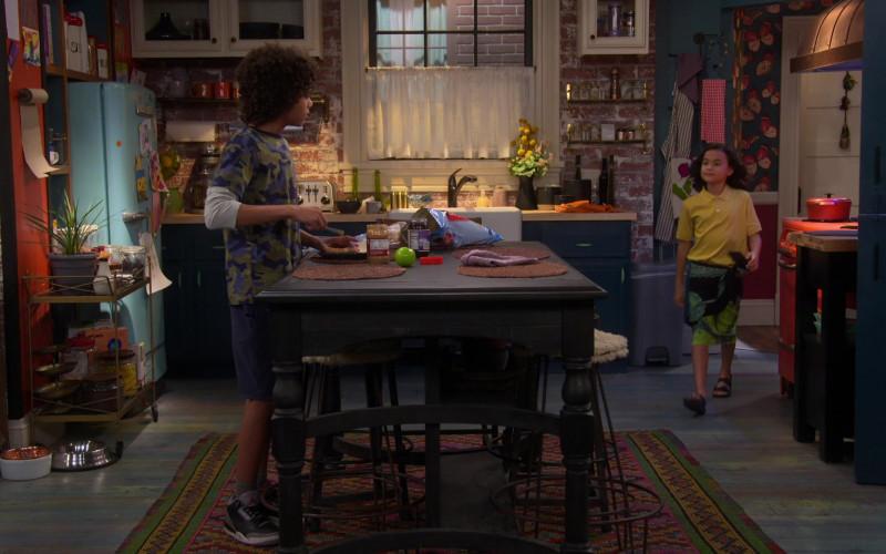 Nike Air Jordan 3 Sneakers of Noah Cottrell as Diego in Punky Brewster S01E06 (1)