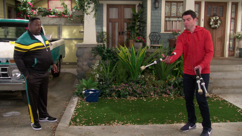 Nike Men's Sneakers Worn by Max Greenfield as Dave Johnson in The Neighborhood S03E10 (2)
