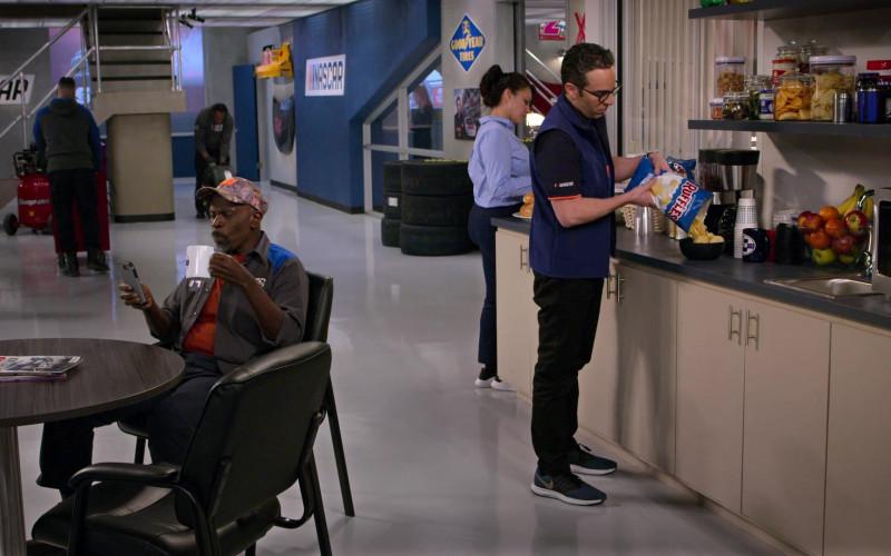 Nike Men's Sneakers of Dan Ahdoot as Amir and Ruffles Chips in The Crew S01E05