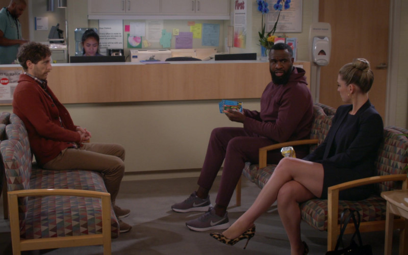 Nike Men's Sneakers of Terrence Terrell as Eli Russell in B Positive S01E09 B Negative (2021)