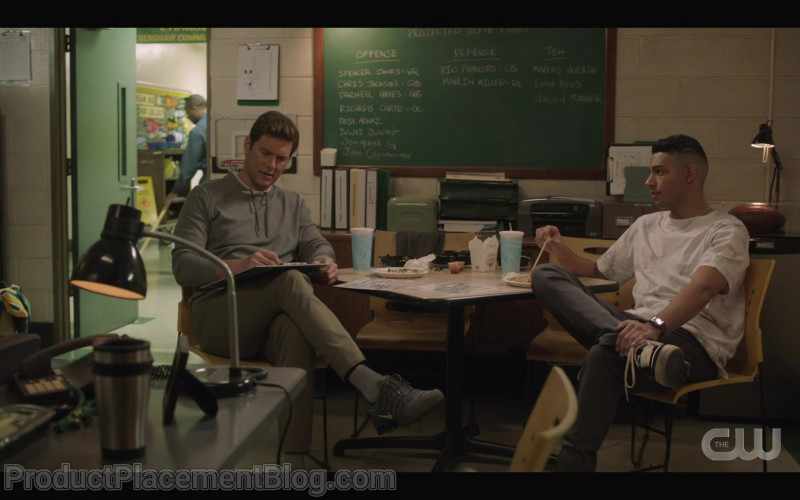 Nike Shox NZ Men's Sneakers in All American S03E05 How Come (2021)