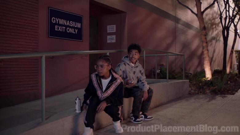 Nike Sneakers of Miles Brown as Jack in Black-ish S07E12 High Water Mark (2021)