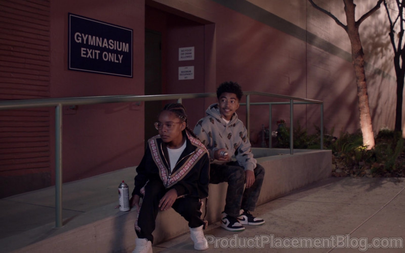 Nike Sneakers of Miles Brown as Jack in Black-ish S07E12 High Water Mark (2021)